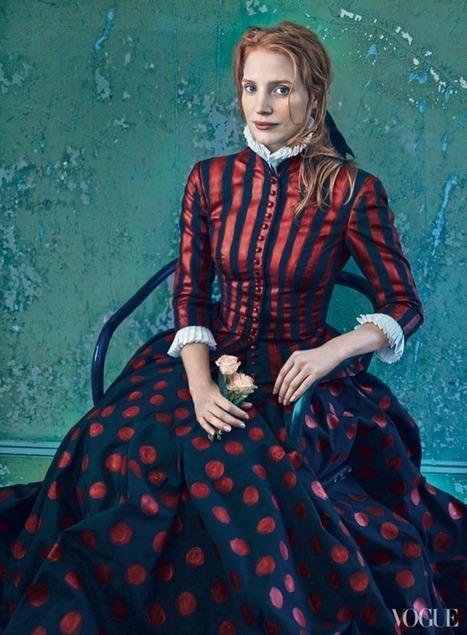 VOGUE MAGAZINE: Jessica Chastain by Photographer Annie Leibovitz | Fokal | Scoop.it