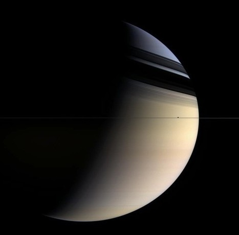 Wait. How Thin Are Saturn's Rings?   Astronomy and Science   Scoop.it
