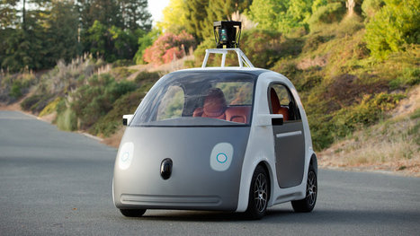 Google made a self-driving car, and it doesn't have a steering wheel or brakes | leapmind | Scoop.it