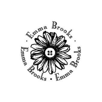 Custom Rubber Stamp Daisy Flower Your Name | Stationary Services For All Your Needs | Scoop.it