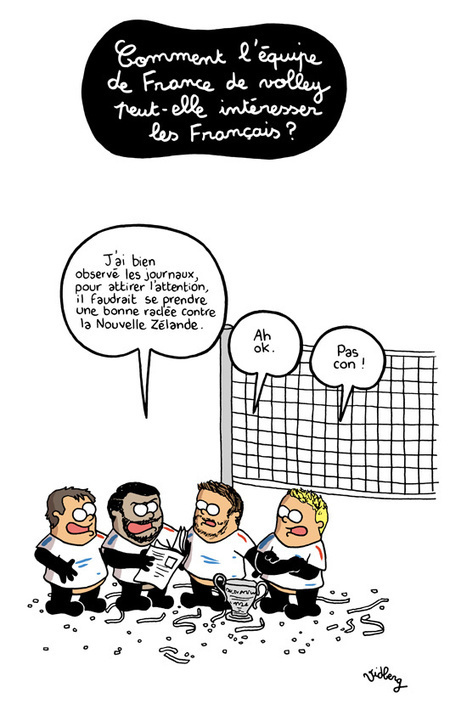 Pourquoi le volley n'intéresse pas les Français ? | Histoire et patrimoine culturel du sport | Scoop.it