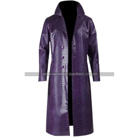 Joker Suicide Squad Crocodile Coat   Sky-Seller : Men Leather Jackets   Scoop.it