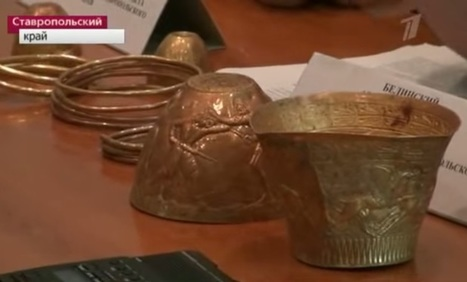 Solid gold Scythian bongs for cannabis and opium discovered in Russia | Vloasis vlogging | Scoop.it