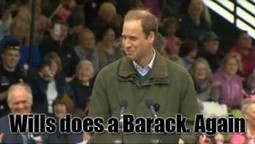 Prince William Does An Obama #STi | spanish news in english | Scoop.it