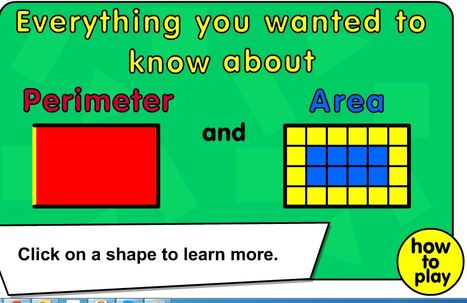Area and Perimeter | Web 2.0 for Education | Scoop.it
