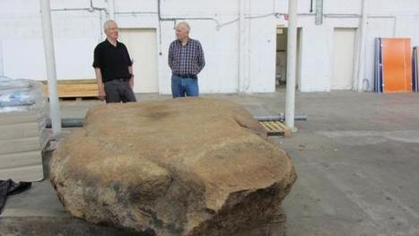 Des gravures sur un menhir intriguent les scientifiques | Aux origines | Scoop.it