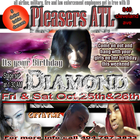 @PleasersAtl 849 Cleveland Ave.... This Fri & Sat | GetAtMe | Scoop.it