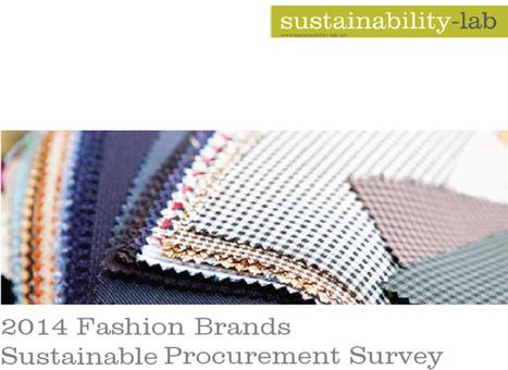 Sustainability a key driver of procurement | Fashion & Retail News | Ecotextile News | Azrim: Az Designer Az You | Scoop.it