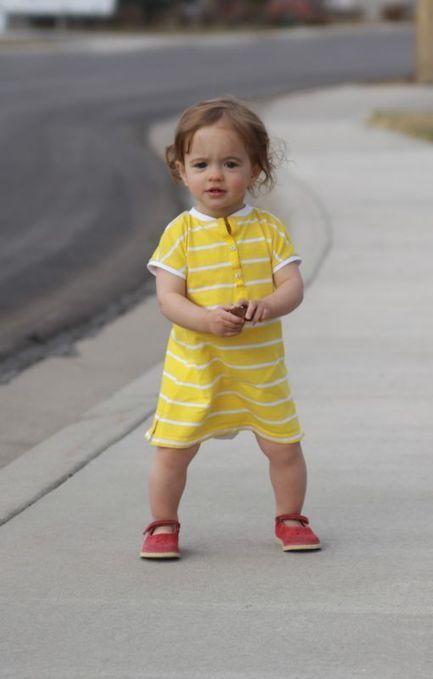Sew: Baby dress from women's shirt - It's Always Autumn | Nähanleitungen | Scoop.it