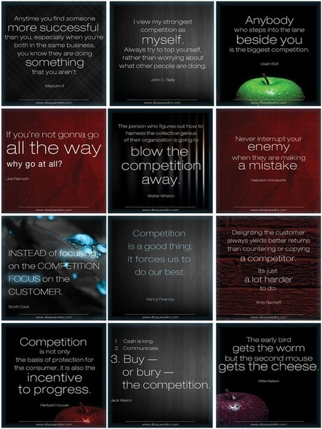 12 Inspiring Quotes to Help you Take On – and Take Out – the Competition | Small Buisiness Marketing | Scoop.it