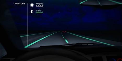 Voici à quoi pourrait ressembler l'autoroute du futur | Technology improvments and evolution of the society | Scoop.it
