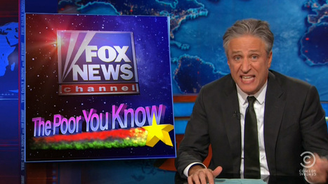 Jon Stewart Rips Fox, Scarborough For Whining After President Obama Criticized Them For Demonizing The Poor   Miscellany   Scoop.it