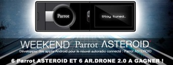 BeMyApp WeekEnd spécial Parrot ASTEROID 11- 13 mai 2012 @ Paris | Radio 2.0 (En & Fr) | Scoop.it