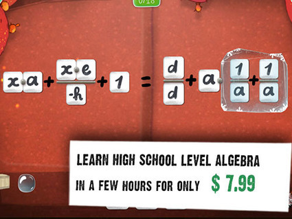 DragonBox - Discover the game of Math   Papa heureux et éducation   Scoop.it