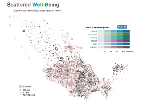 How well-being varies across Mexico | Journalisme graphique | Scoop.it