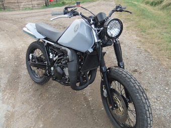 sideblog: For Sale: CFM TDR250 Street Tracker | vintage motos | Scoop.it