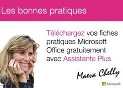 Fiches pratiques Microsoft : Word, Excel, Lync, Outlook, OneNote... | gestion temps, outlook, lotus notes | Scoop.it