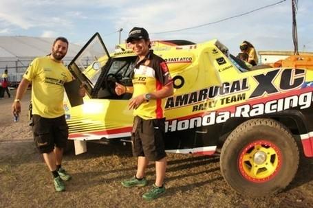 Auto Racing  October on Dakar 2012  El Tamarugal Xc Honda Racing Se Queda Sin Autos En Carrera