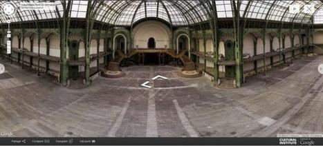 Clic France / Visites interactives sous quatre angles et douze expositions virtuelles: le Grand Palais se dévoile avec Google | Clic France | Scoop.it