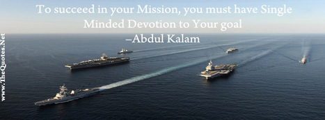 Facebook Cover Image - Success Quote From AbdulKalam - TheQuotes.Net | Facebook Cover Photos | Scoop.it