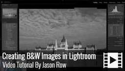 FREE Video - How to Create Amazing Black & White images in Lightroom | As digitally seen ... | Scoop.it