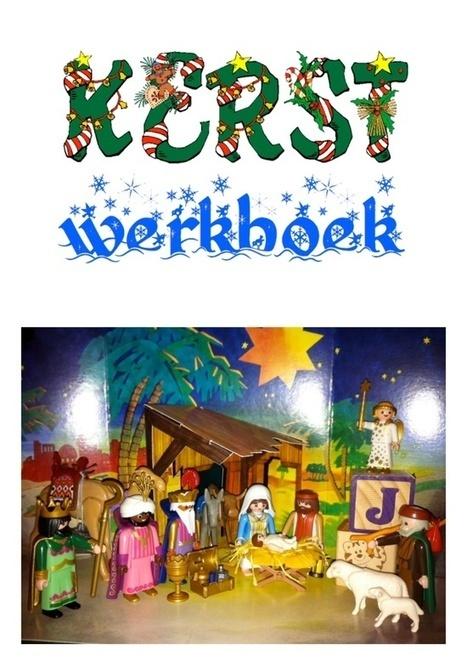 Kerst werkboeken van schoolgoochelaar Aarnoud Agricola bevat verhaal uit kinderbijbel en werkbladen over het kerstverhaal   Gratis thema-werkboeken van schoolgoochelaar Aarnoud Agricola uit Utrecht   Scoop.it