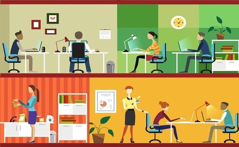 Comment la pratique du coworking s'est répandue dans le monde depuis 1995 | internet et education populaire | Scoop.it