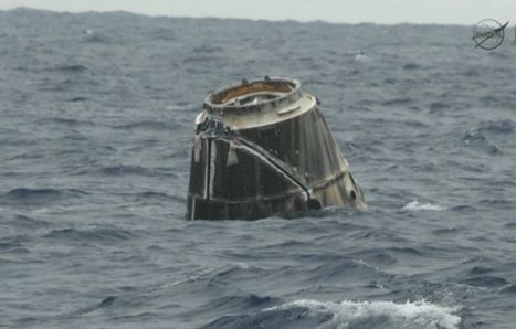 SpaceX Dragon Capsule Splashes Down | Discovery News | The NewSpace Daily | Scoop.it