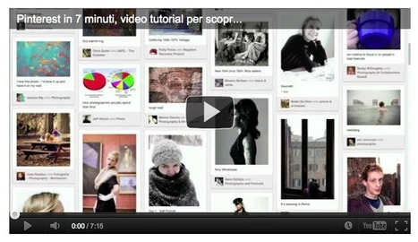[Video] Che cos'è Pinterest e come funziona? | guida pinterest | Scoop.it