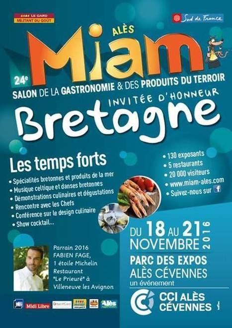 Le Salon MIAM 2016 met à l'honneur cette année la Bretagne | Made In Sud de France | Scoop.it
