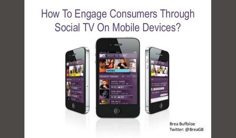 Social TV, second écran: comment engager le consommateur ? | Observatoire des Smart TV | My Social TV | Scoop.it