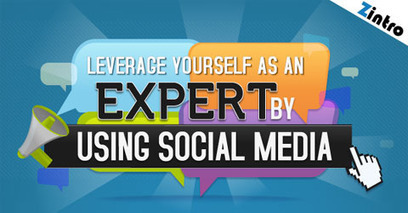 Show Your Expertise Through Social Media (INFOGRAPHICS) | Social Media & Trust +Misc. | Scoop.it