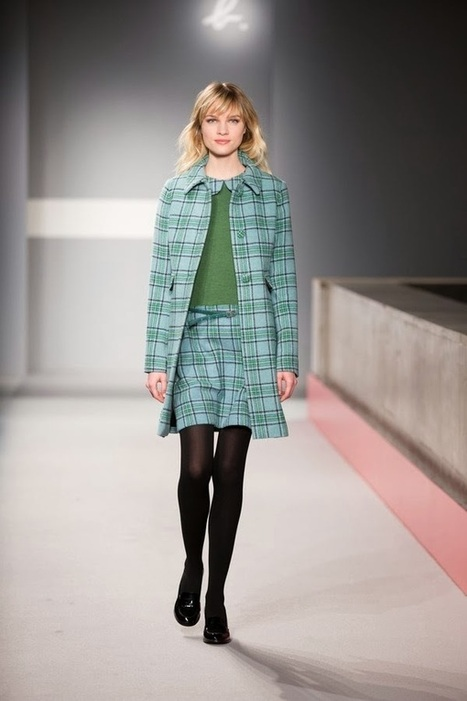 Agnès B. - Automne Hiver 2014 2015 | Du dessin aux podiums | TAFT: Trends And Fashion Timeline | Scoop.it