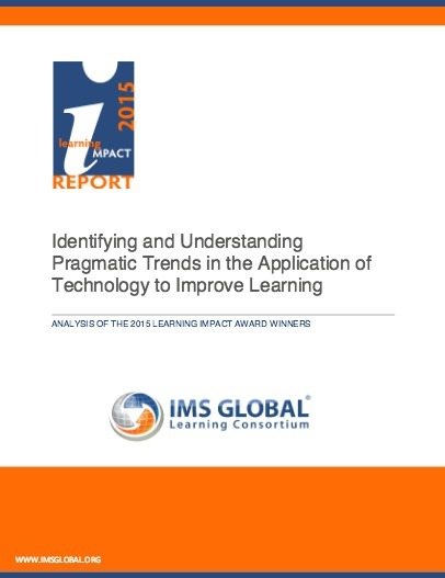 Identifying and Understanding Pragmatic Trends in the Application of Technology to Improve Learning | Digital Learning - beyond eLearning and Blended Learning in Higher Education | Scoop.it