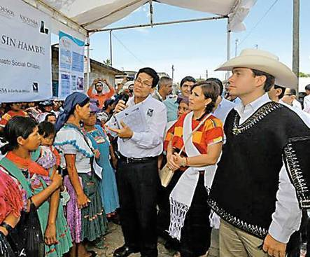 Supervisan Cruzada contra el Hambre en Chiapas - Heraldo de chihuahua | Política social y comunidades | Scoop.it