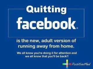 Quitting Facebook | The Perfect Storm Team | Scoop.it