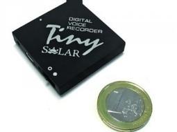Edic Mini Tiny Solar voice recorder - This Is Veeery Techy   Technology Advance   Scoop.it