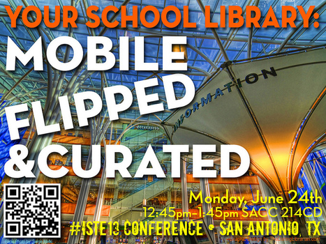 Your School Library: Mobile Flipped & Curated W... | Creating Library Learning Commons | Scoop.it
