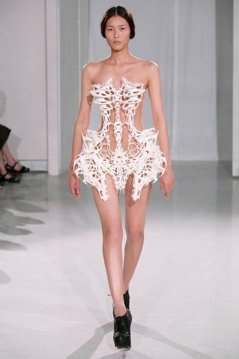 Iris Van Herpen: taking her dresses a level higher | Additive Manufacturing News | Scoop.it