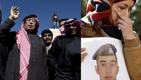 Jordan will hit ISIS hard in its own den, vows king as pilot's father cries revenge | Anonymous Canada International news | Scoop.it