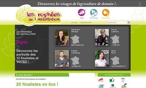 Votez pour l'innovation et la jeunesse aux Trophées de l'installation ! - Aqui.fr | Innovation et sérendipité | Scoop.it