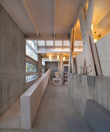sebastian irarrazaval completes the new public library of constitucion | Library world, new trends, technologies | Scoop.it