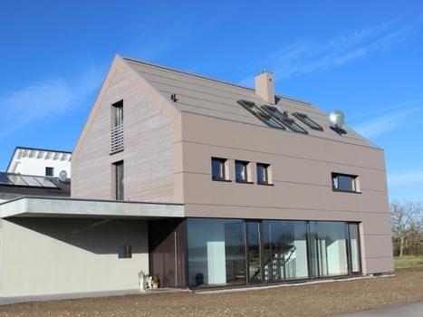 Des mille-feuilles de bois pour les murs d'une maison écologique | CODIFAB | Scoop.it