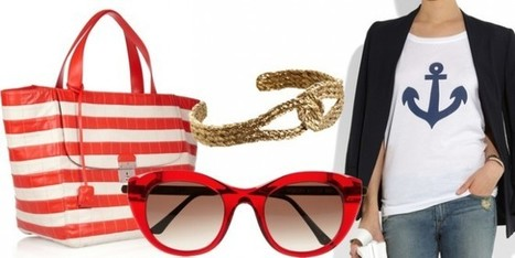 Lo stile da marinaio in versione super chic! - Sfilate | fashion and runway - sfilate e moda | Scoop.it