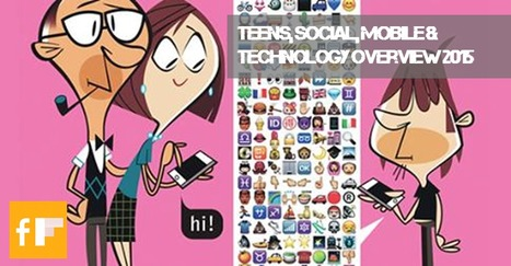 Teens, Social, Mobile & Technology Overview 2015 | Digital Media | Scoop.it