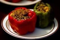 HH Recipe: Vegan Stuffed Bell Peppers!   Veganism   Scoop.it