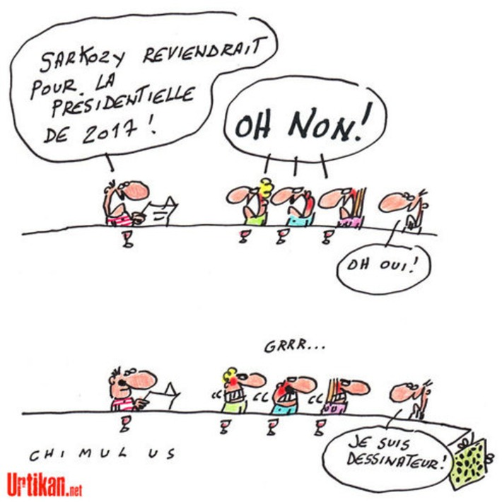 Sarkozy reviendrait pour la présidentielle de 2017 | Baie d'humour | Scoop.it