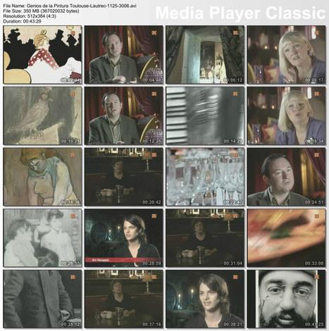Genios de la Pintura – Hoy Toulouse-Lautrec – Dvdrip | Historia del Arte | Scoop.it