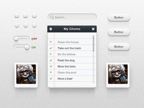 14 Free Pure CSS UI Kits | CSS3 & HTML5 | Scoop.it