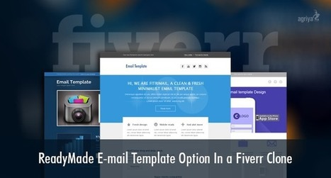 Techandmarket: Ready-made email template option in a Fiverr clone | Technology and Marketing | Scoop.it
